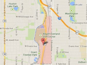 South Platte River Denver Neighborhoods: Overland Park