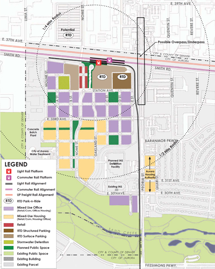 Peoria Station Land Use Map