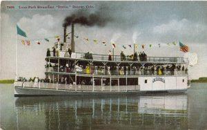 Luna Park steamboat on Sloan's Lake.
