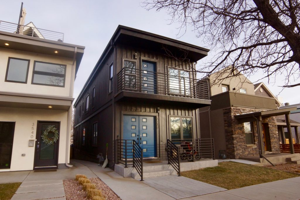 Shipping container homes in denver for Where to buy shipping containers for homes