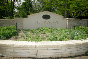 The Preserve Entrance