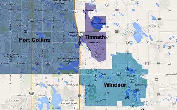 largerMAP2 Your Timnath, Windsor, Fort Collins Real Estate Specialist
