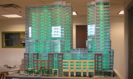 Glass House Sales Office New Sales Office in Glass House