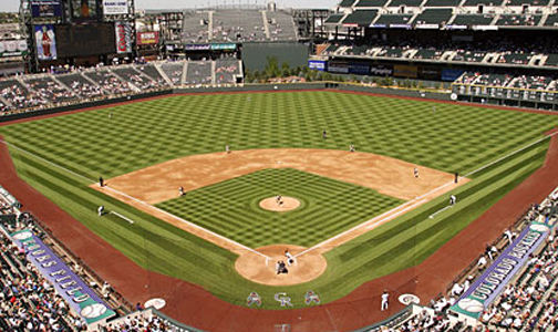 coors field Coors Field Ranked #4