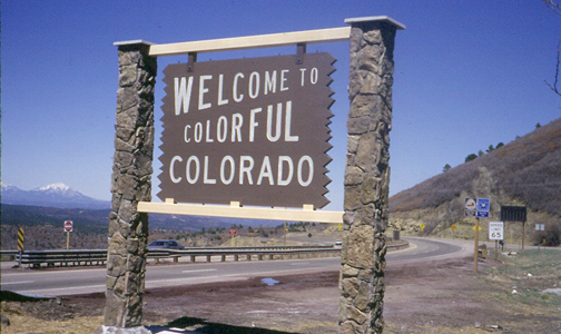 Colorado sign Colorado Ranks 3rd Best State for Business