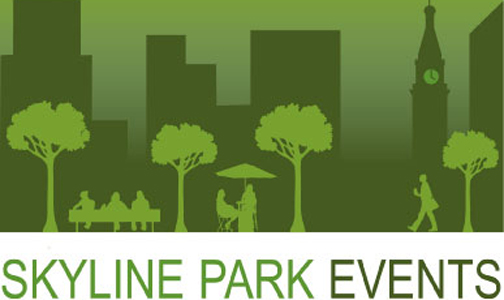 Skyline logo Movies in Skyline Park