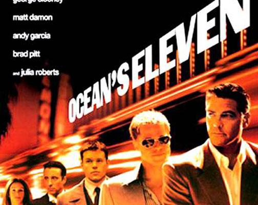 Oceans 11 Movie Night Tomorrow:  Oceans 11