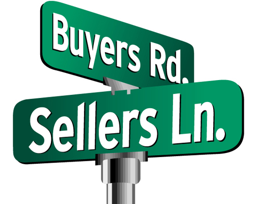 buyers sellers street sign How to improve your homes sell ability