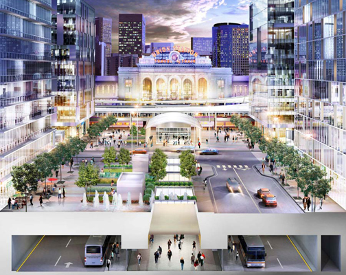 DUS 17th St Union Station Update