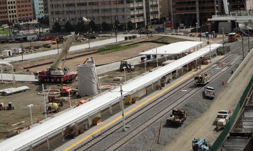 Union Station Light Rail Light Rail Closures