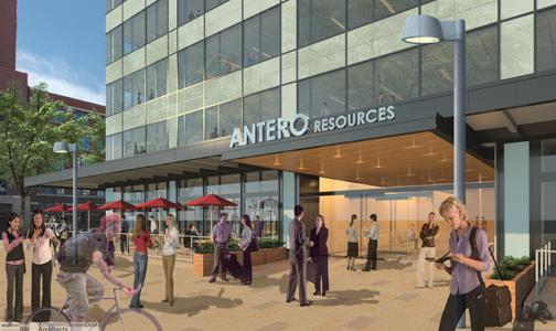 Antero lobby  One Union Station starting construction