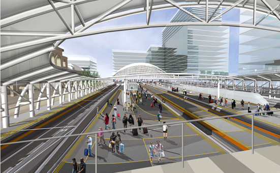 Union Station Rendering Union Station Update