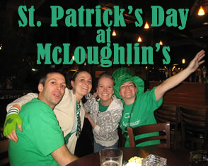 stpats countdown 241 St Pattys Day at McLoughlins