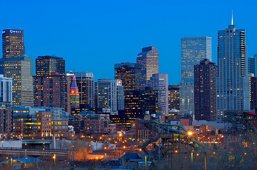 Denver Skyline Denver is 6th Fastest Growing City