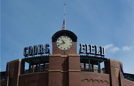 Ballpark in Denver, CO