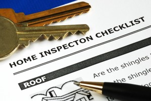 Checklist from the Real Estate Inspection Report