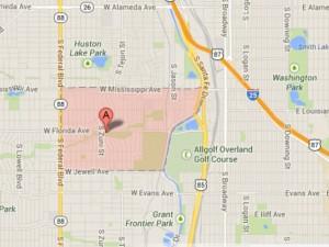 Ruby Hill Denver Neighborhood Map 300x225 South Platte River Denver Neighborhoods: Ruby Hill, Athmar Park, Overland