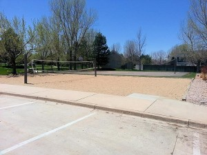 Stroh Ranch Recreation Center Vollyball & Basketball Courts