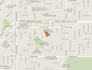 Whittier Neighborhood Map | Denver Homes For Sale