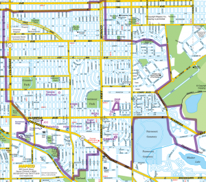 East Denver Eruv Map