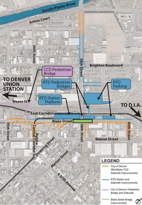 Globeville Denver Neighborhood Map - Real Estate