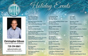 Denver Realtor 2015 Holiday Events Schedule Part 1