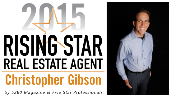 5280 Magazine Five Star Real Estate Agent Denver Realtor Christopher Gibson