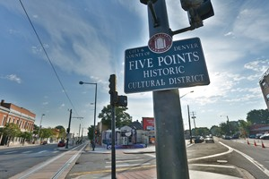 Five Points Neighborhood Sign - Denver Real Estate News