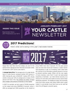 Your Castle January 2017 Newsletter