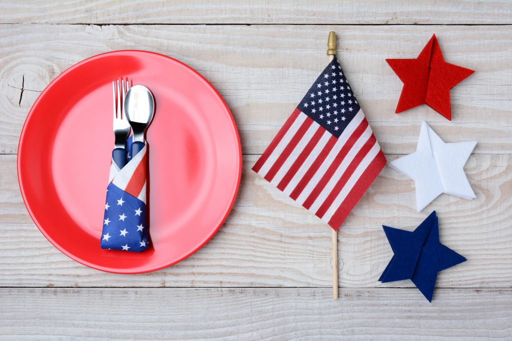 The perfect 4th of July menu for your pre-firework picnic