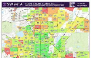 denver home price change map 300x192 A Visual Look at Denver Home Prices and the Real Estate Market