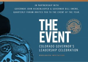 Your Castle President Attends 2018 Colorado Governor's Leadership Celebration