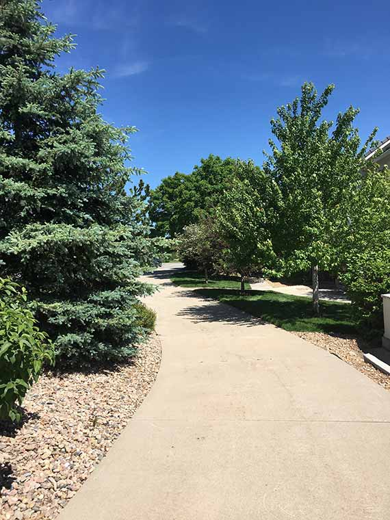 homestead saddle rock bike walking path Homestead at Saddle Rock East Condos for Sale