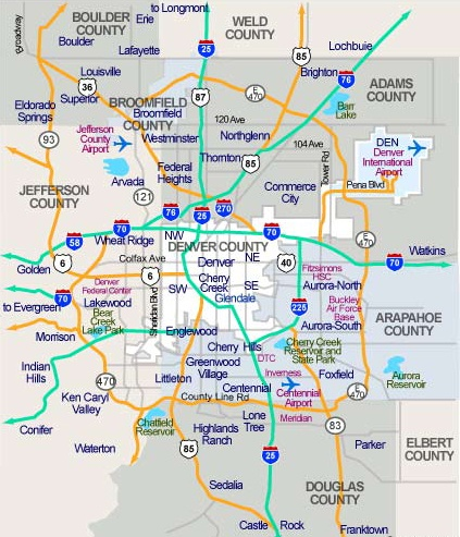 Denver Suburbs Map Denver Neighborhoods   Elaine Swomley Denver Suburbs Map