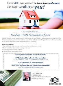 Building Wealth Through Real Estate Seminar