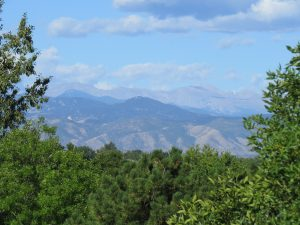 Amazing Mountain Views in Highlands Ranch