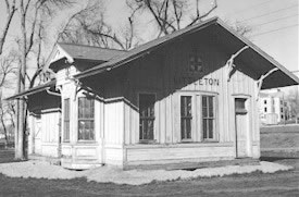 Railroad Depot Castle Rock Colorado History