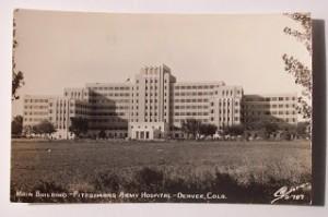 fitzsimons hosppostcard 300x199 Aurora Colorado History