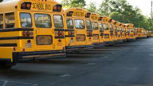 Schools buses Golden Colorado Schools