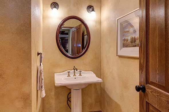 Before - Bathroom at 48 Batala Place