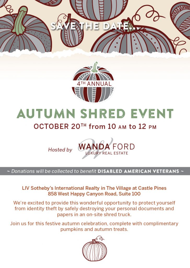 AUTUMN SHRED EVENT ~ 10.20.18