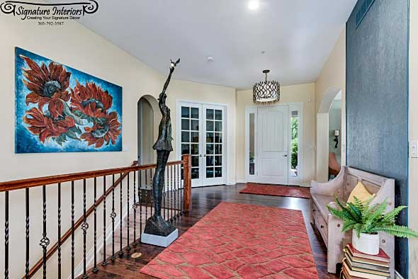After 4302 Chateau Ridge Foyer