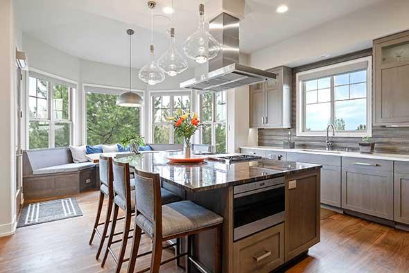 After 6269 Shavano Peak Place Kitchen Bay Window