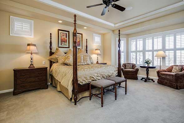 Before 6269 Shavano Peak Place Master Suite Bedroom