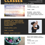 Upcoming classes for April 2018