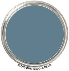 Behr Blueprint color swatch