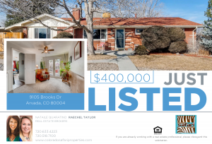Sales flyer for property on Brooks Drive