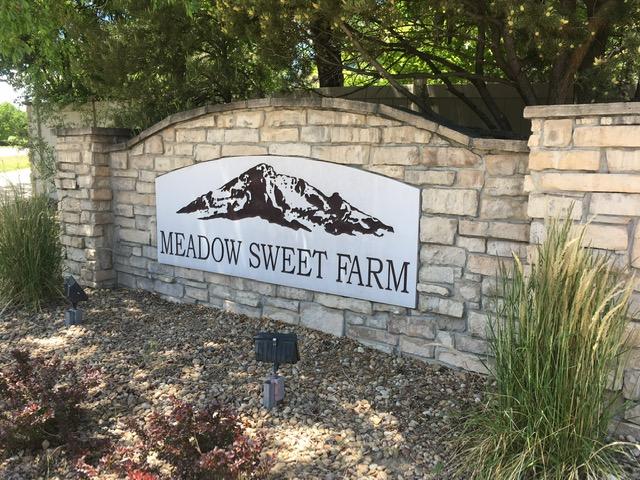 Neighborhood sign for Meadow Sweet Farm - Erie Neighborhood Information