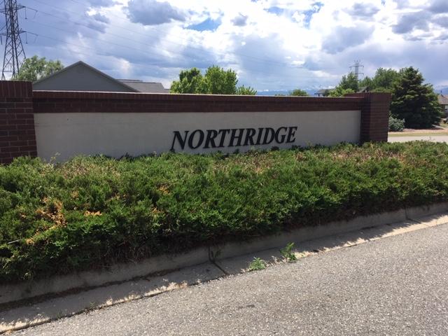 Neighborhood sign for Northridge - Erie Neighborhood Information