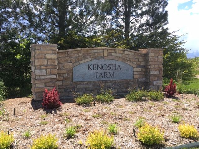 Neighborhood sign for Kenosha Farm - Erie Neighborhood Information